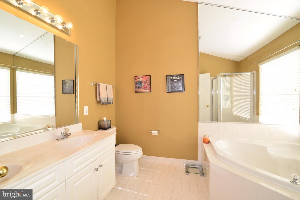 Master Bathroom with vaulted ceiling - 12171 TRYTON WAY, RESTON