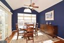 High ceilings in breakfast room bump out - 12171 TRYTON WAY, RESTON