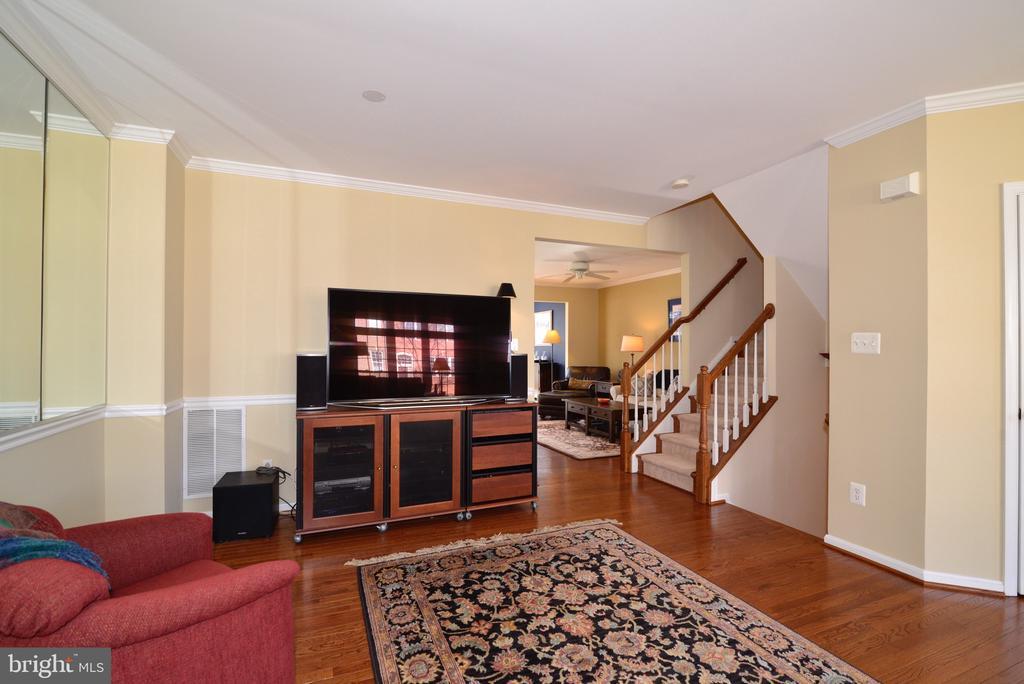 Hardwood floors in Dining Room area - 12171 TRYTON WAY, RESTON