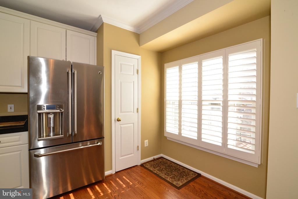 Kitchen with plantation shutters - 12171 TRYTON WAY, RESTON