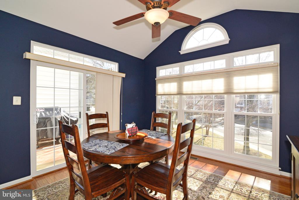 Light and bright breakfast room bump out! - 12171 TRYTON WAY, RESTON