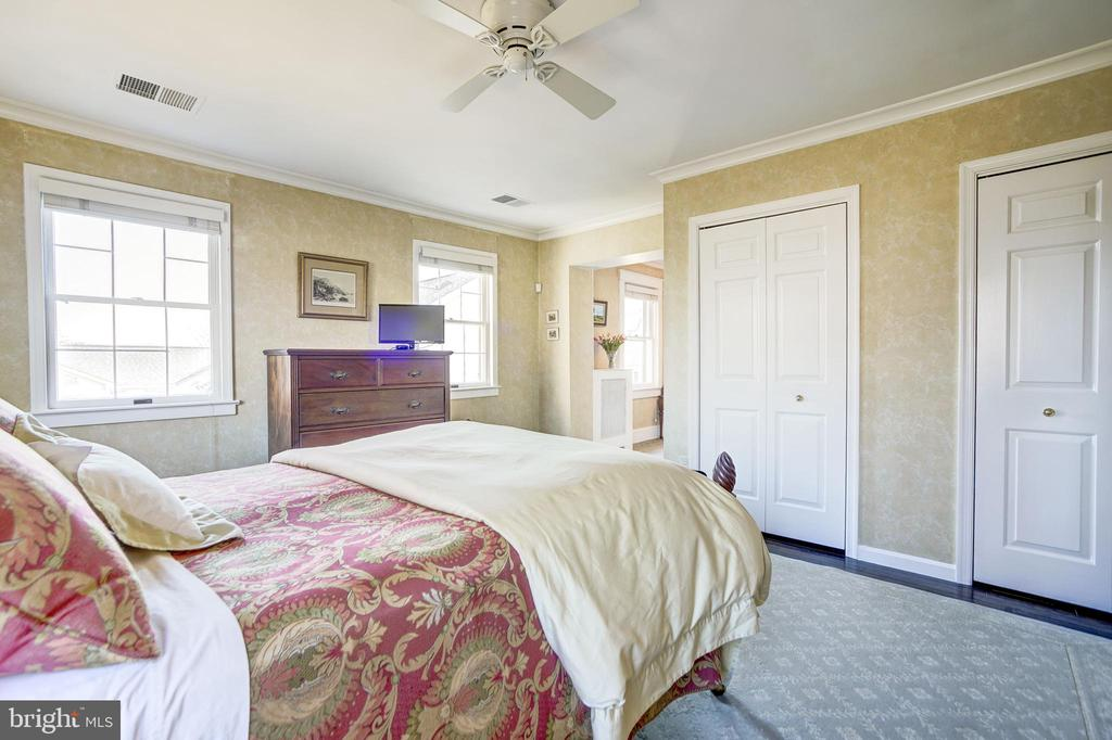 Master suite with 3 closets - 115 W MAPLE ST, ALEXANDRIA
