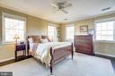 Bright master suite - 115 W MAPLE ST, ALEXANDRIA
