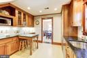 Quality custom inset cherry  cabinets - 115 W MAPLE ST, ALEXANDRIA