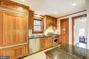 SS appliances and pantry closet w/ spice rack - 115 W MAPLE ST, ALEXANDRIA