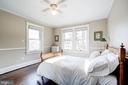 Spacious bedrooms with gleaming hardwoods - 115 W MAPLE ST, ALEXANDRIA