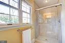 Renovated bath on upper level with large shower - 115 W MAPLE ST, ALEXANDRIA