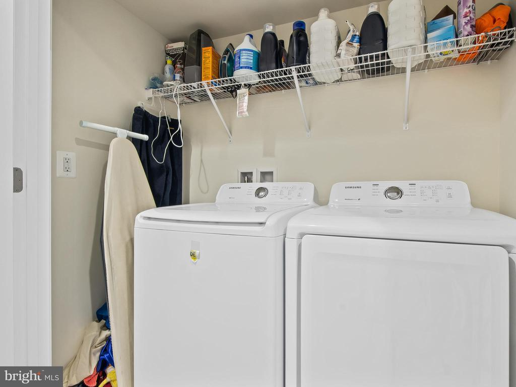 Laundry on top floor - 10662 VIEWMONT LN, MANASSAS