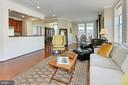 Living Room - 400 CAMERON STATION BLVD #202, ALEXANDRIA
