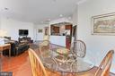 Breakfast/Dining Room - 400 CAMERON STATION BLVD #202, ALEXANDRIA