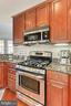 Kitchen - 400 CAMERON STATION BLVD #202, ALEXANDRIA