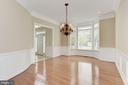 Dining Room - 43896 RIVERPOINT DR, LEESBURG
