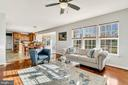 Family room opens up to entire main level - 25955 MCCOY CT, CHANTILLY