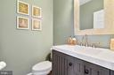 Powder room - 25955 MCCOY CT, CHANTILLY