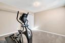Bonus bedroom or gym in the basement with closet. - 25955 MCCOY CT, CHANTILLY