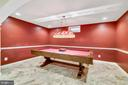 Basement pool table room - 25955 MCCOY CT, CHANTILLY