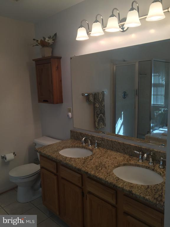 Master Bath -  Granite Counters - 8 WESTCHESTER CT, STAFFORD