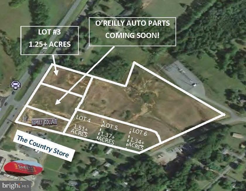 Land for Sale at SEMINOLE TRL #OPTION B-LOTS 4 & 5, Ruckersville, Virginia 22968 United States