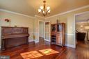 Separate/formal dining room - 4314 MARKWOOD LN, FAIRFAX