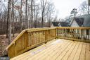 Deck on Rear - 105 HAPPY CREEK RD, LOCUST GROVE