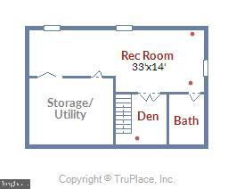 lower level features FULL bath! - 4992 BREEZE WAY, DUMFRIES