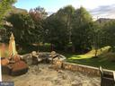 Back yard in the summer - 44181 RIVERPOINT DR, LEESBURG
