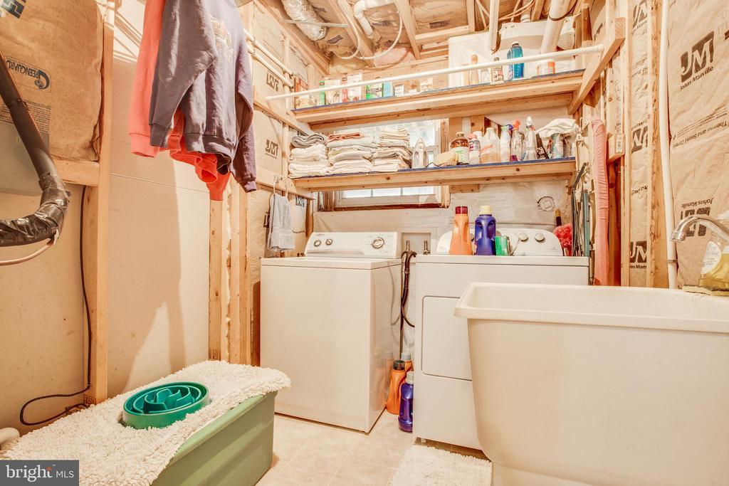 Laundry room - 8430 SWAN WOODS RD, RHOADESVILLE