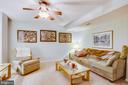 Family room - 8430 SWAN WOODS RD, RHOADESVILLE