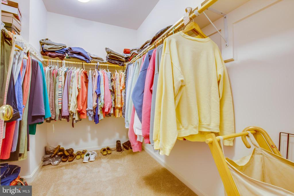 Lots of closet space - 8430 SWAN WOODS RD, RHOADESVILLE