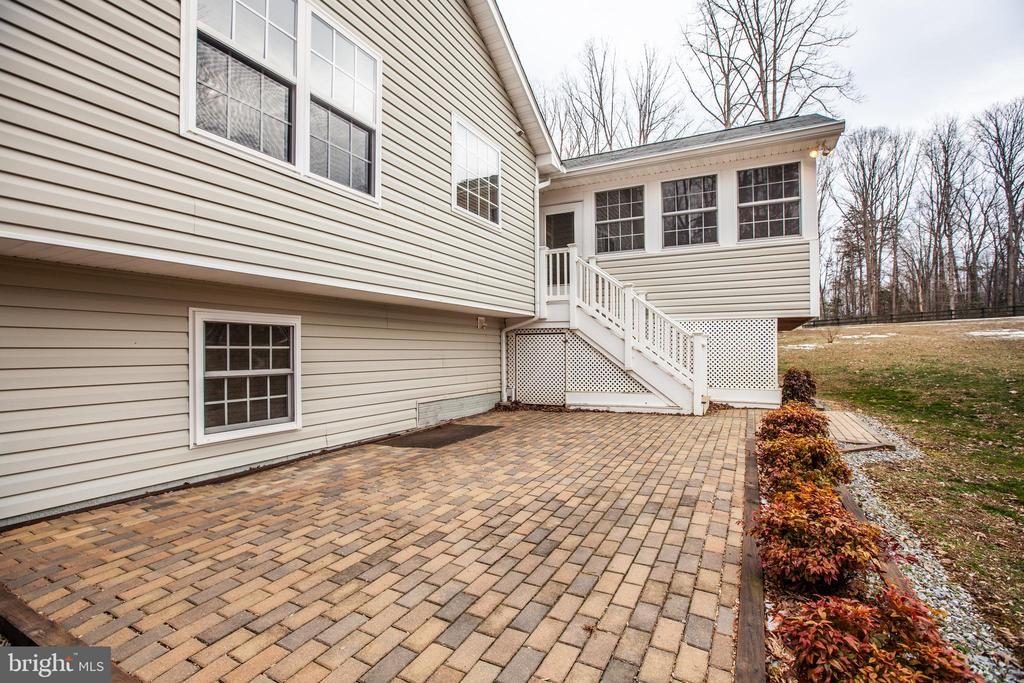 More details of the patio - 8430 SWAN WOODS RD, RHOADESVILLE