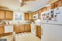 Kitchen - 8430 SWAN WOODS RD, RHOADESVILLE