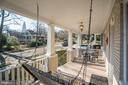 Enjoy views of the Masonic Temple from your porch. - 115 W MAPLE ST, ALEXANDRIA