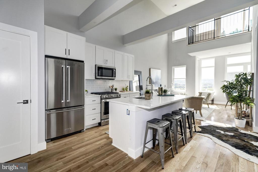 Open floor plan - 1512 K ST SE #6, WASHINGTON