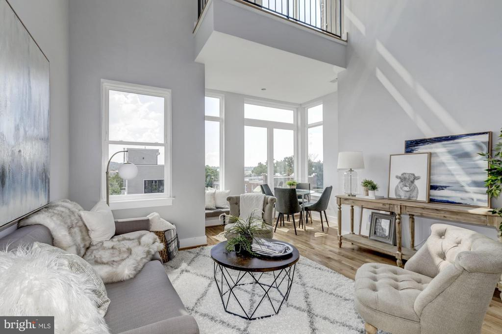 Got your shades on?  The natural light is AWESOME! - 1512 K ST SE #6, WASHINGTON