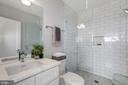 1st full bath - 1512 K ST SE #6, WASHINGTON