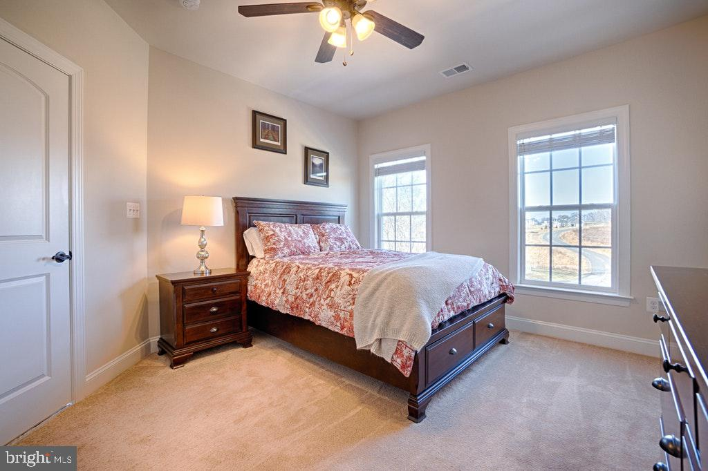 Bedroom with private bath and walk in closet. - 39859 CHARLES HENRY PL, WATERFORD