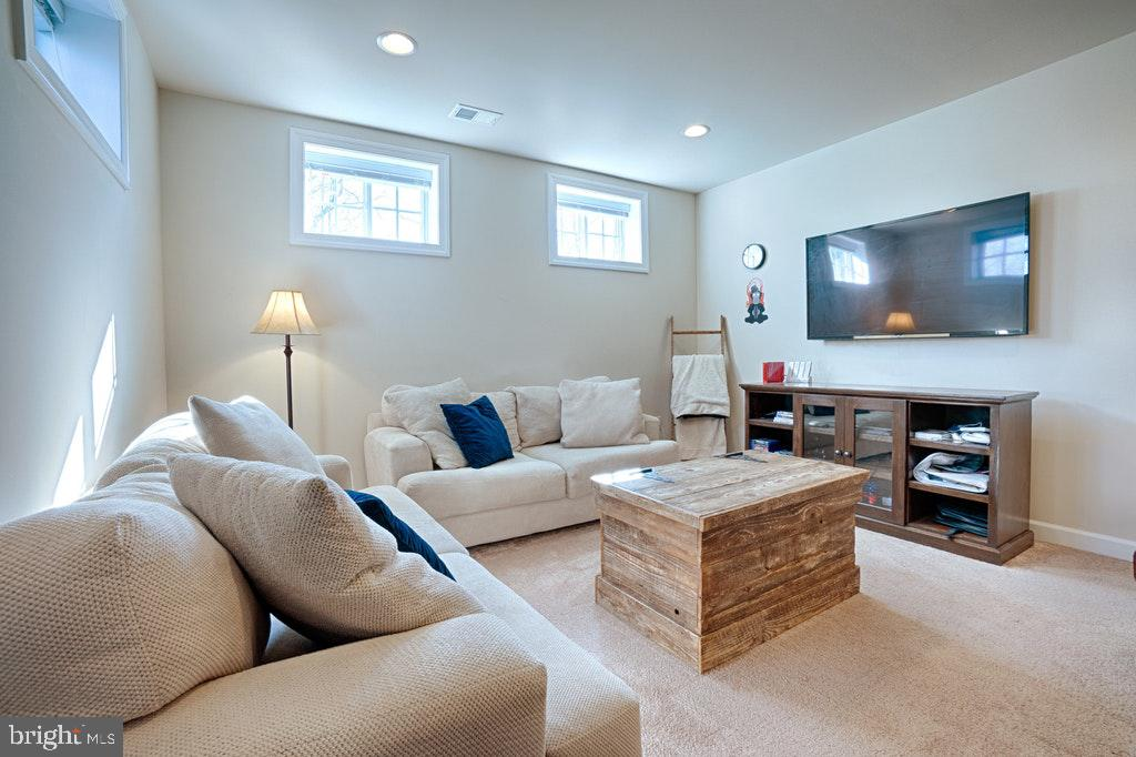 Video/TV area. - 39859 CHARLES HENRY PL, WATERFORD