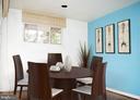 Dining room - 7604 GLENNON DR, BETHESDA