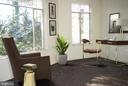 Main level Family room off Living room & Porch - 7604 GLENNON DR, BETHESDA