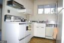 Kitchen first view - 7604 GLENNON DR, BETHESDA