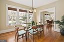 Formal dining room - 1714 N CALVERT ST, ARLINGTON