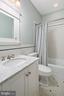 Full main level bathroom - 1714 N CALVERT ST, ARLINGTON