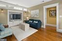 Family room - 1714 N CALVERT ST, ARLINGTON
