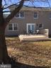 Private backyard - 10273 WINDGATE CT, MANASSAS
