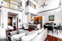 Livingroom - 520 JOHN CARLYLE ST #106, ALEXANDRIA