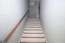 STAIRS LEADING TO BEDROOMS - 2308 16TH ST SE, WASHINGTON