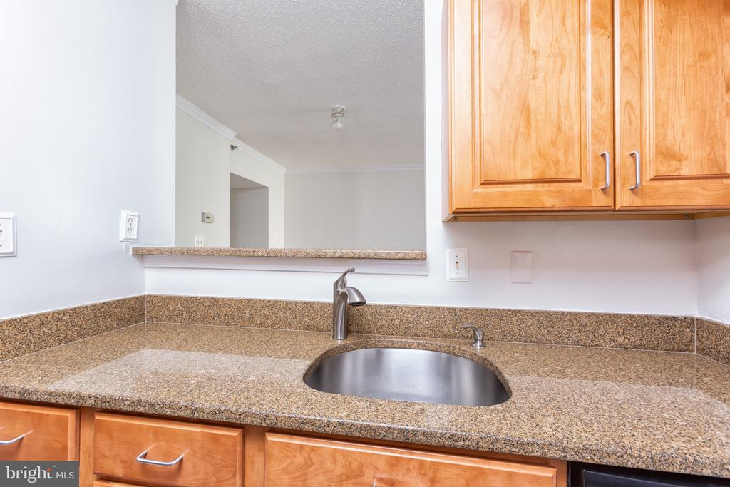 View of living area from kitchen - 1001 N RANDOLPH ST #323, ARLINGTON