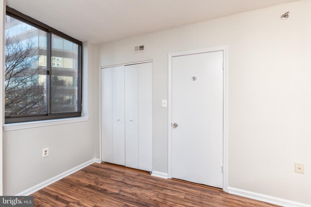 Bright master bedroom & more closet space - 1001 N RANDOLPH ST #323, ARLINGTON