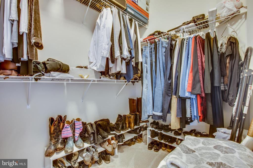 Huge master closet. - 215 ROCK RAYMOND DR, STAFFORD