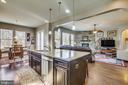 Exceptional is the word to describe this kitchen! - 215 ROCK RAYMOND DR, STAFFORD